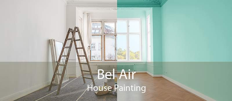 Bel Air House Painting