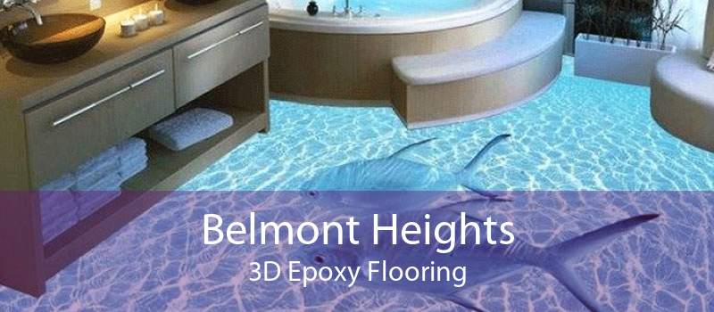 Belmont Heights 3D Epoxy Flooring