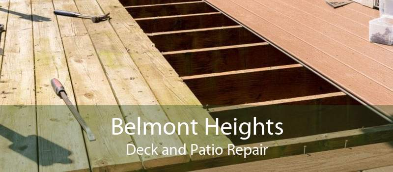 Belmont Heights Deck and Patio Repair