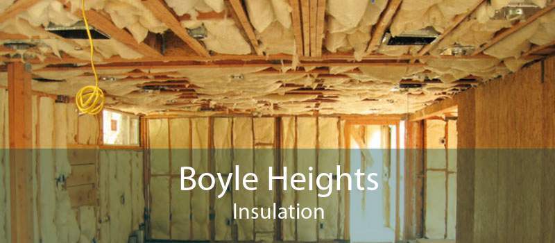 Boyle Heights Insulation