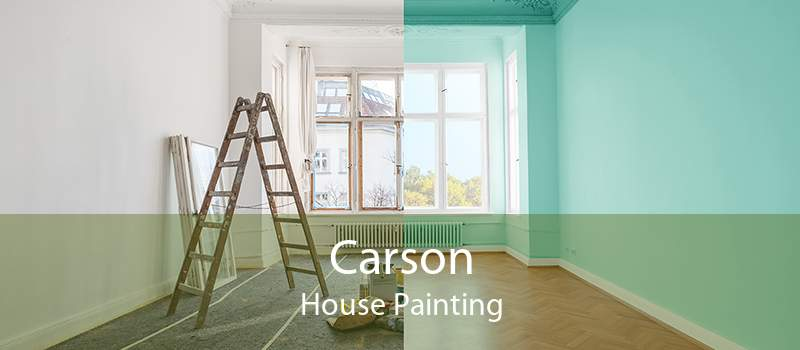 Carson House Painting