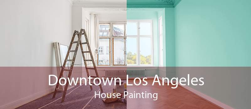 Downtown Los Angeles House Painting