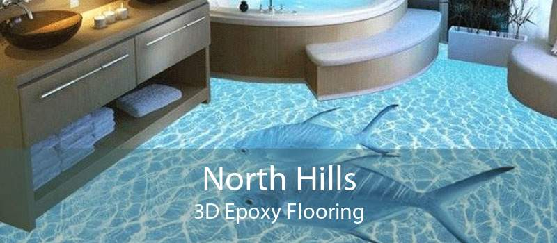 North Hills 3D Epoxy Flooring