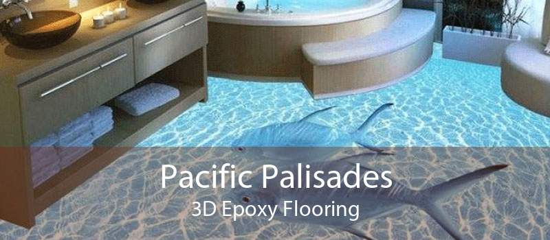 Pacific Palisades 3D Epoxy Flooring