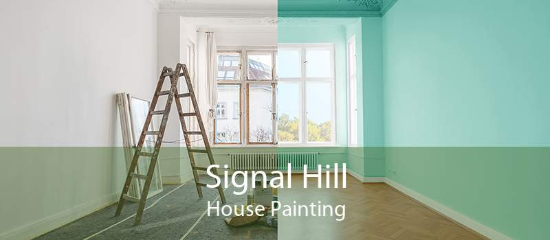 Signal Hill House Painting