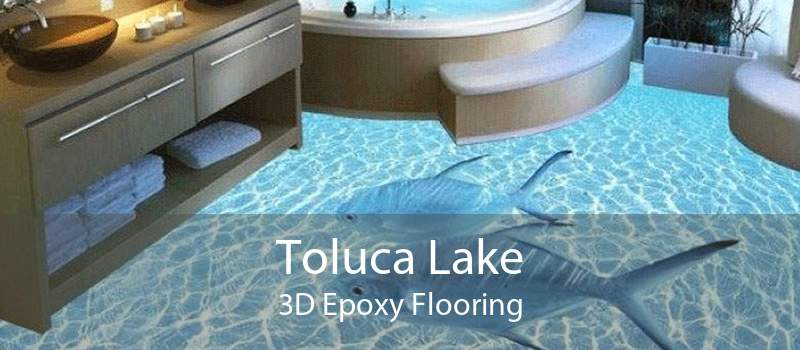 Toluca Lake 3D Epoxy Flooring