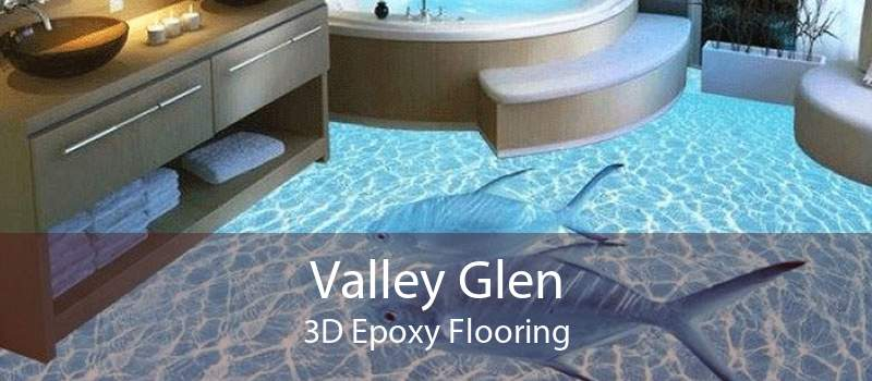 Valley Glen 3D Epoxy Flooring