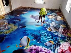 3D Epoxy Flooring Installation in West Hills